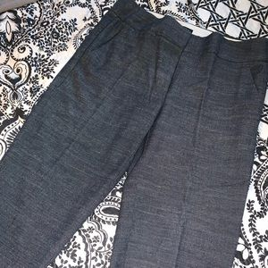 LOFT grayish/black ankle pants